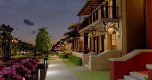 Bannerman Commons 6-EVENING-SIDEWALK-VIEW-with-NORTH-HOUSES
