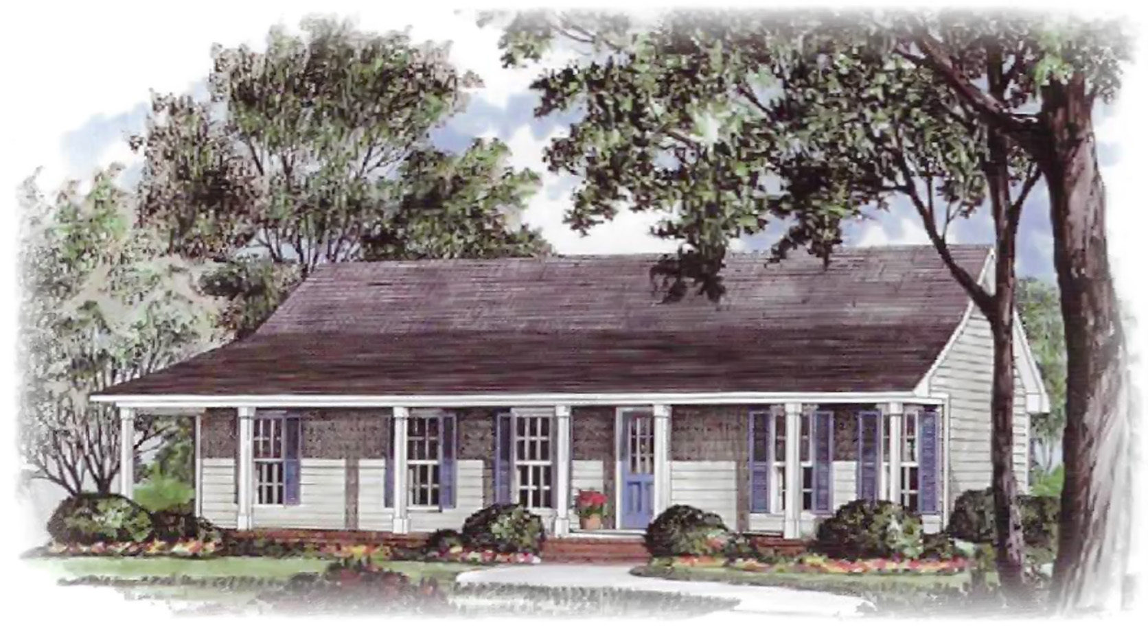 Farmhouse Pennyworth Homes Tallahassee Home Builder