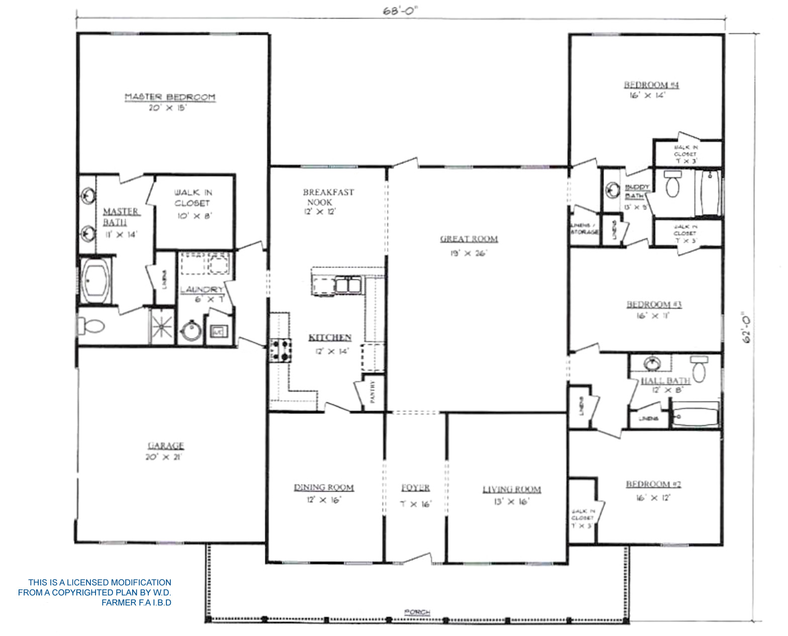 Plans for Pennyworth Homes Tallahassee Home Builder Covington