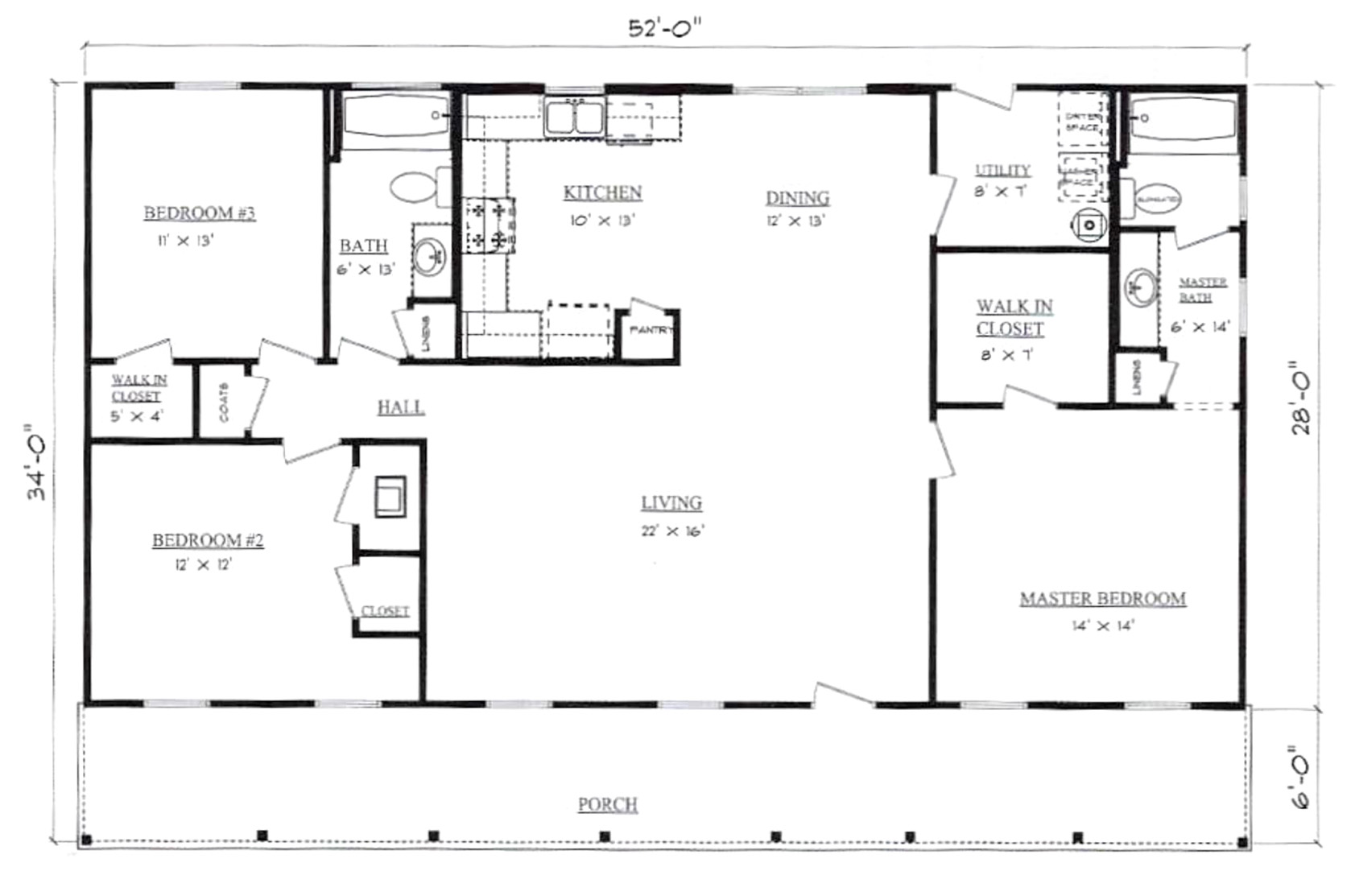 Plans for Farmhouse Pennyworth Homes Tallahassee Home Builder