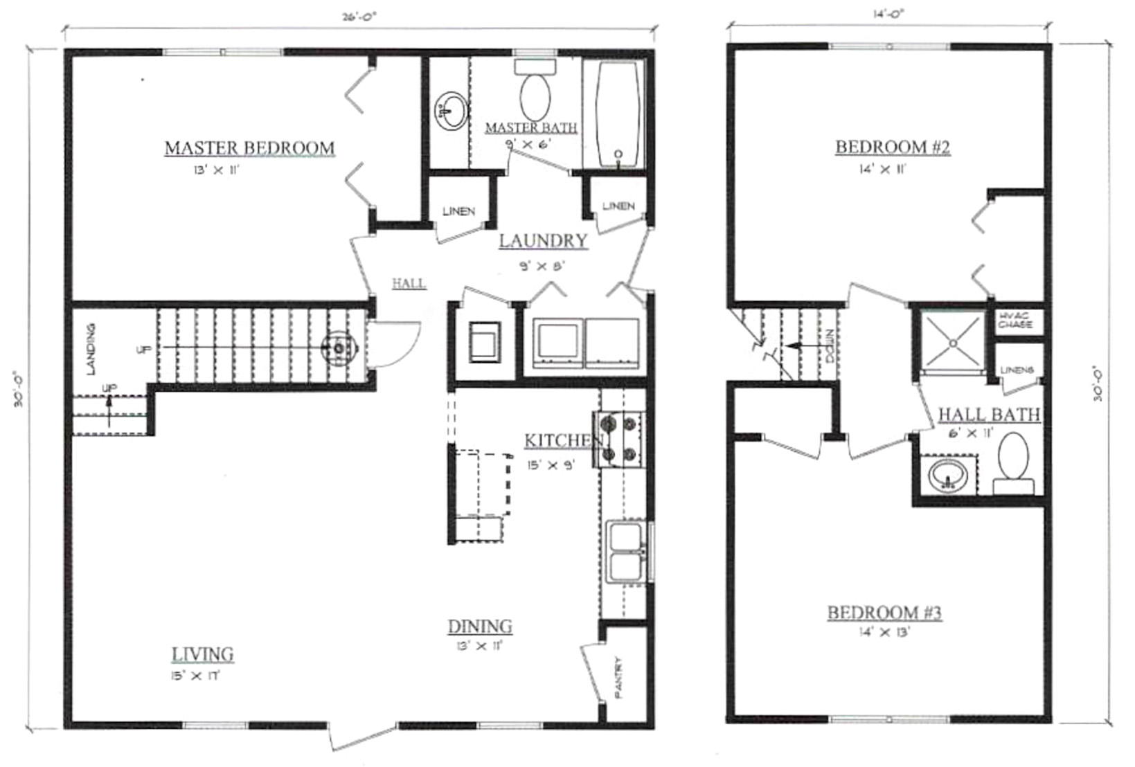 Plans for Farmview Pennyworth Homes Tallahassee Home Builder