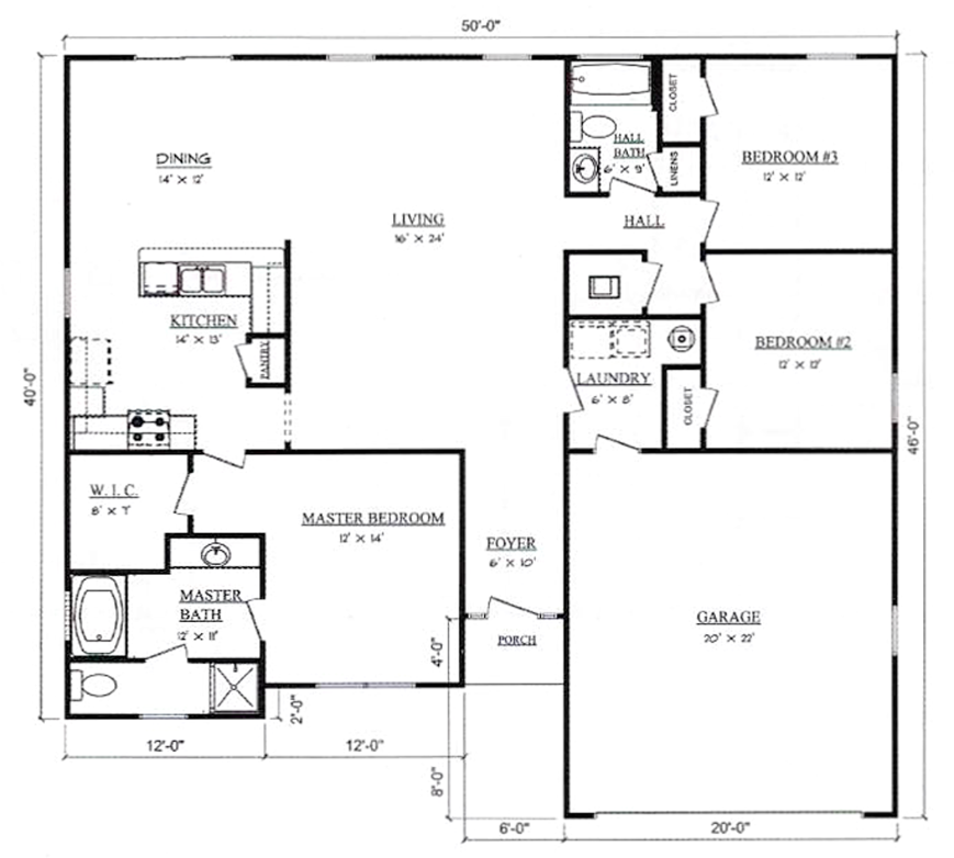 Plans for Lynnwood Pennyworth Homes Tallahassee Home Builder
