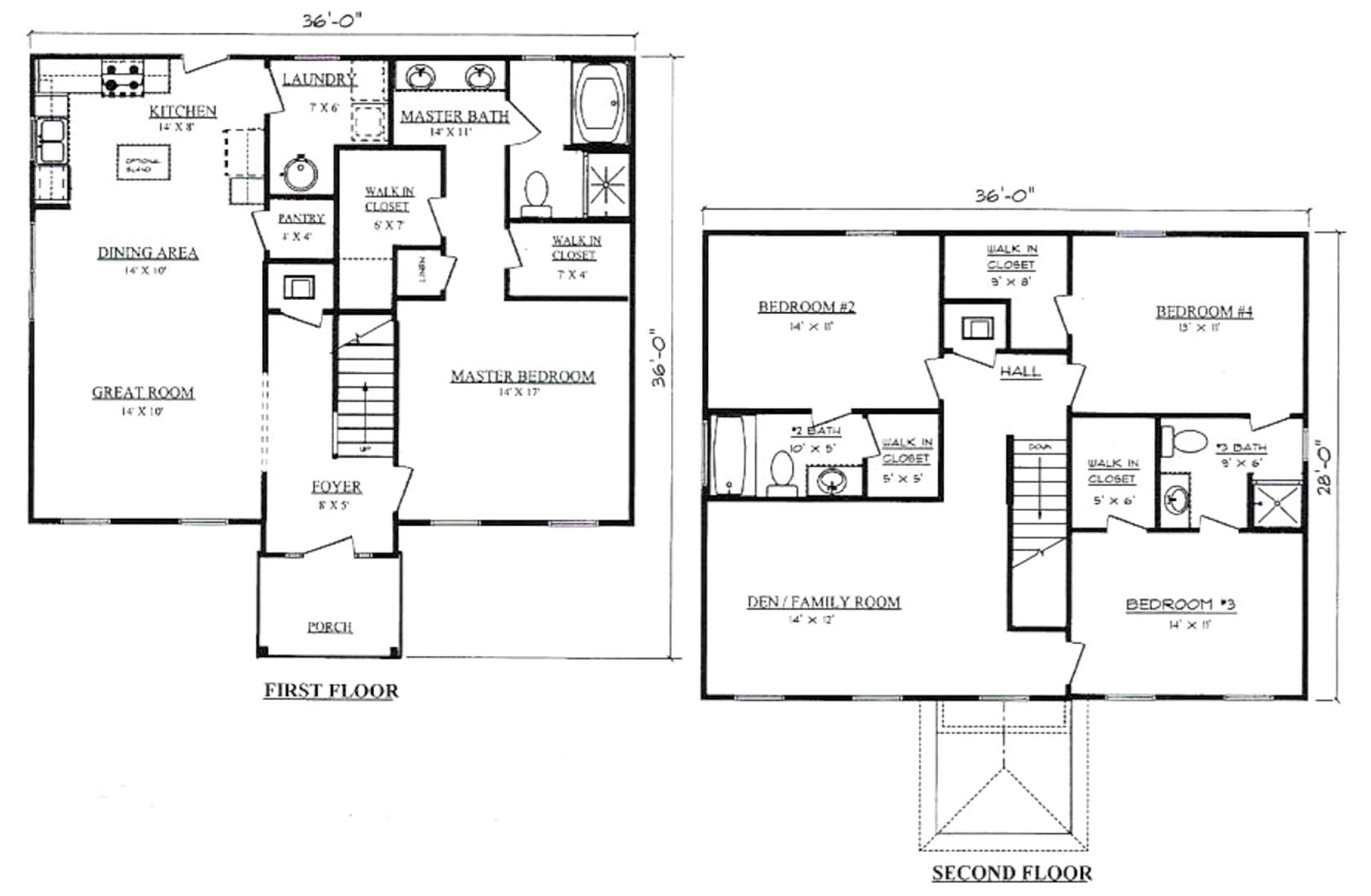 Plans for Manchester Pennyworth Homes Tallahassee Home Builder