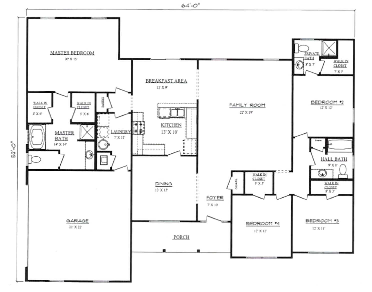 Plans for Monticello Pennyworth Homes Tallahassee Home Builder