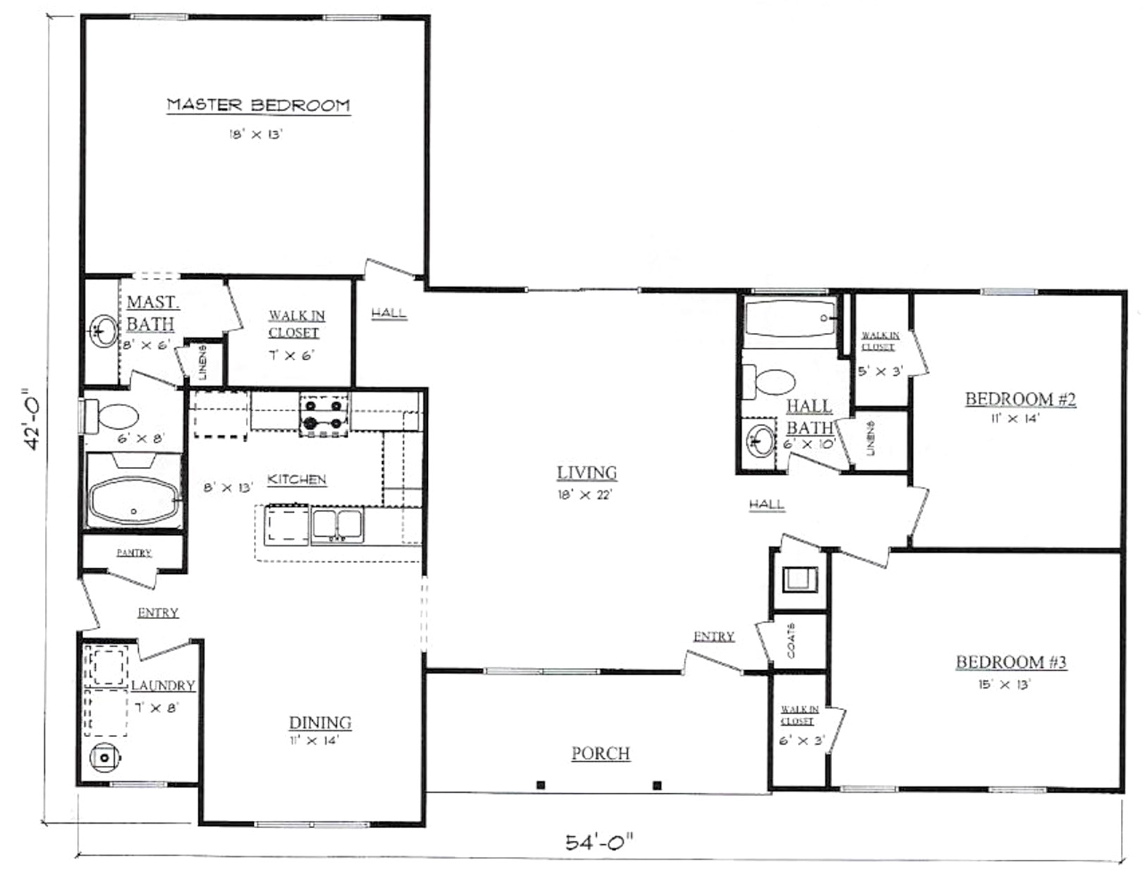 Plans for Westwind Pennyworth Homes Tallahassee Home Builder