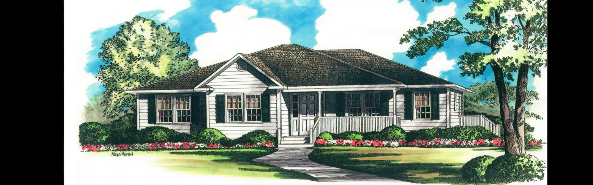 Tallahassee Home Builder Drawing